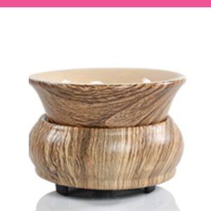 Pink Zebra Wood Grain Simmer Pot